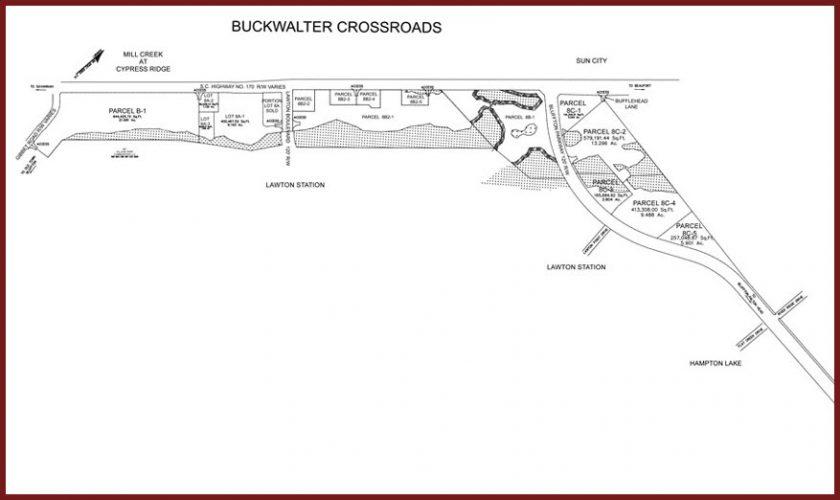 Buckwalter Crossroads Layout