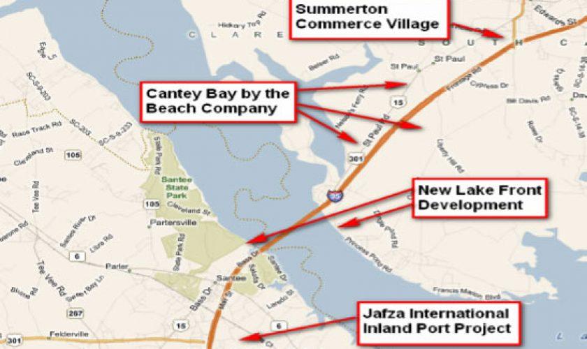 Summerton Site Map